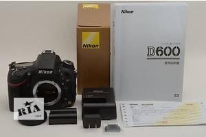 Nikon D600 Body состояние нового 1270 кадров