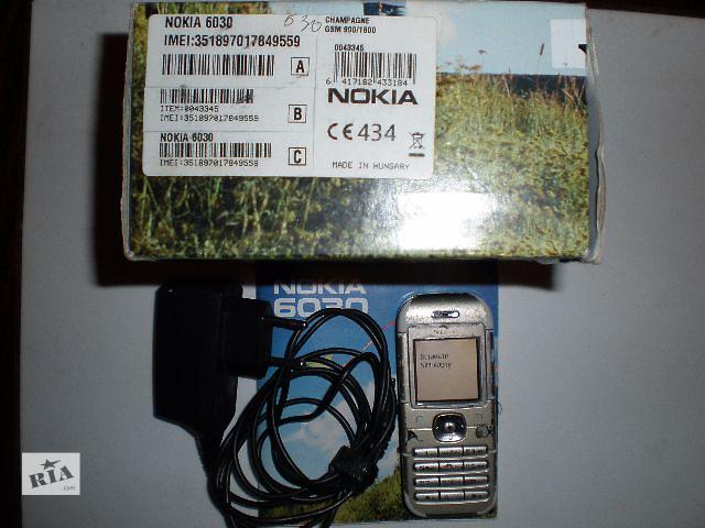 купить бу Nokia 6030 +зарядка, коробка в Виннице
