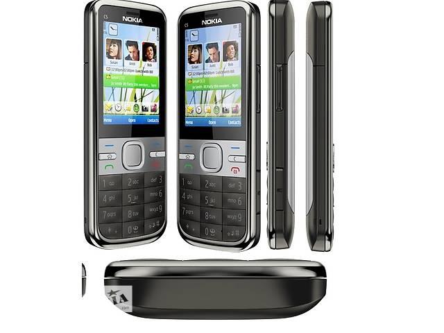 купить бу Nokia c5-00i made in Finland!Оригинал с гарантией!Новый! в Киеве