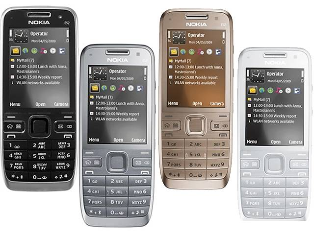 Nokia e52 Оригинал!Стильный с гарантией!Быстрая и беспечна доставка- объявление о продаже  в Киеве