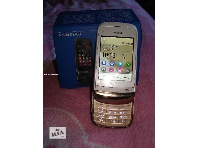 купить бу Nokia С2-03 Слайдер Оригинал в Киеве