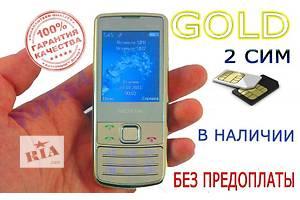 Nokia 6700 2-СИМ. Метал корпус. Золото, Серебро, Черный. ОПЛАТА ПРИ ПОЛУЧЕНИИ!