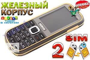 Nokia 3720 (2 sim)  Гарантия 6 мес.
