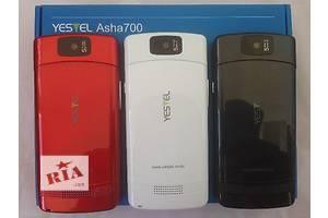 Nokia Asha 700 (Yestel), 2 сим, РАСПРОДАЖА !!! В НАЛИЧИИ! ДОСТАВКА 1-3 дня! ОПЛАТА ПРИ ПОЛУЧЕНИИ!