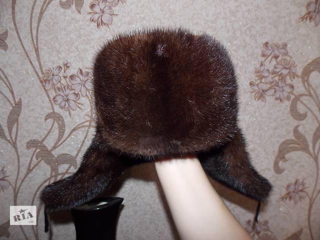 купить бу Норковая полная шапка 58 раз. в Каменском (Днепродзержинске)
