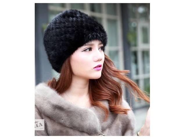 продам Норковые теплые шапки из натуральной норки!!!Черный цвет. бу в Запорожье