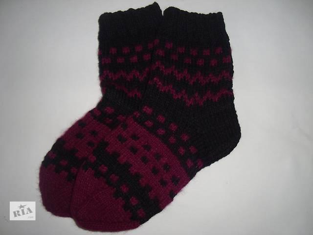 Носки вязаные спицами (по стельке 25.5, 24 см)- объявление о продаже  в Новограде-Волынском