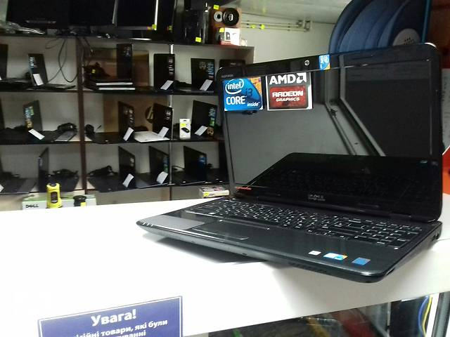 """продам Ноутбук Dell 15.6"""" intel i3/ 4 Гб / 320 Гб/ radeon 5470 бу в Виннице"""