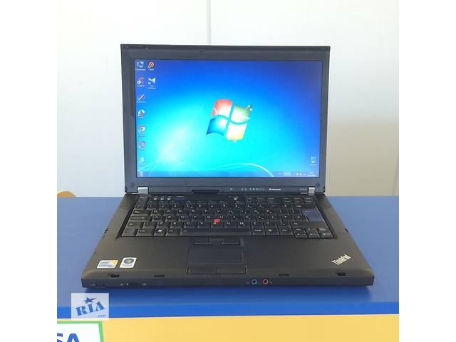 бу Ноутбук для дома и офиса Lenovo T400, встроеный 3G, 4096Mb DDR3, гарантия 6 мес. в Киеве