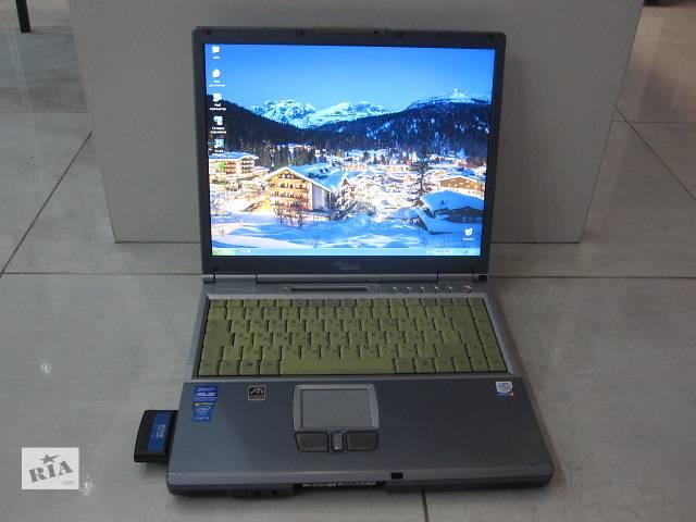 бу Ноутбук Fujitsu-Siemens Pentium 2.2GHz, COM, LPT, iRda порты, тв-выход в Киеве