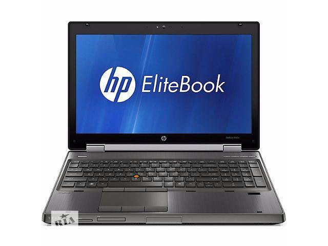 "Ноутбук с Европы! HP Elitebook 8560w / 15.6"" / i7 2820QM  2.3 GHz / 4GB DDR3 / 750GB / Quadro 2000m- объявление о продаже  в Знаменке (Кировоградской обл.)"