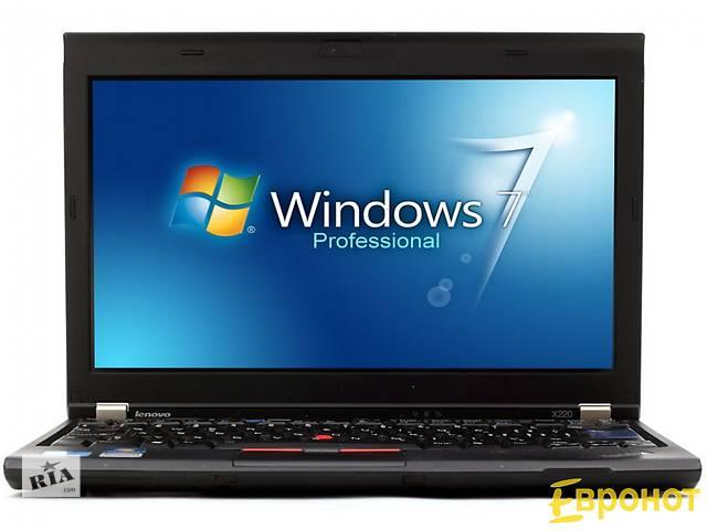 продам Ноутбук Lenovo ThinkPad X220 бу в Киеве