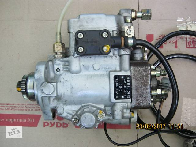 бу Топливный насос Mercedes Sprinter 2.9 TDI(90квт.) A6020708301 0460415992 в Луцке