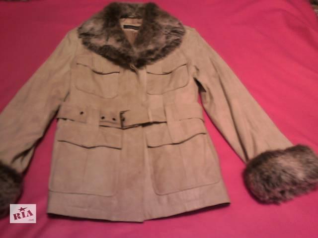продам Кожаная куртка утепленная Leather Sound Португалия 38р бу в Львове