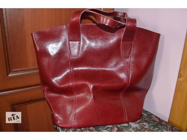 купить бу Новая шкірянна сумка в Черновцах