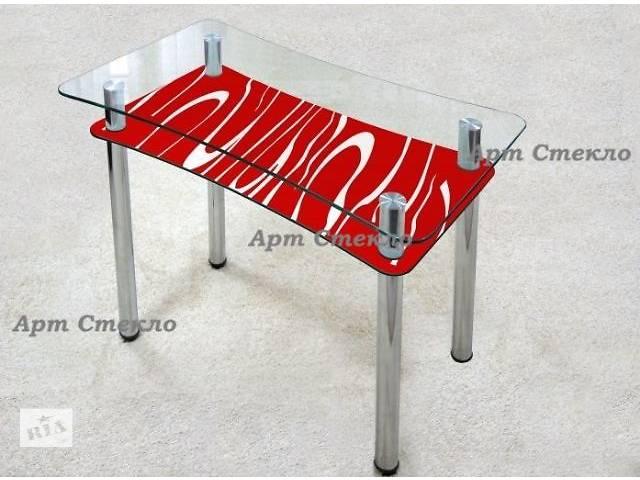 продам Новае обеденные столы из стекла бу в Дружковке