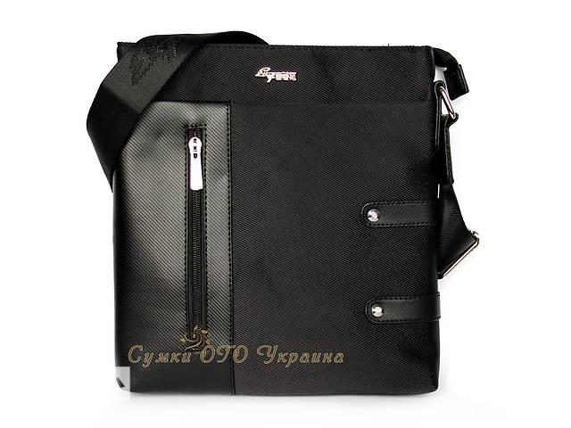 Новая черная мужская сумка. Сумка планшет. Барсетка.- объявление о продаже  в Одессе