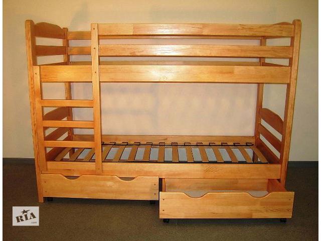 продам Новая детская двухъярусная кровать  «Бернар» + Акция!!!  бу в Киеве