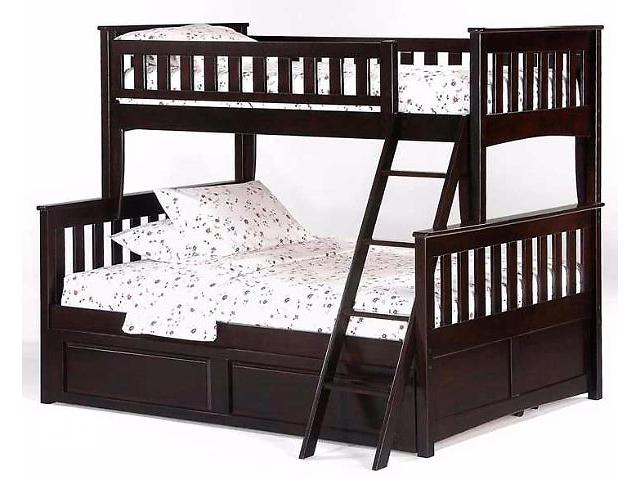 продам Новая детская двухъярусная кровать на три места «Жасмин» + акция бу в Киеве