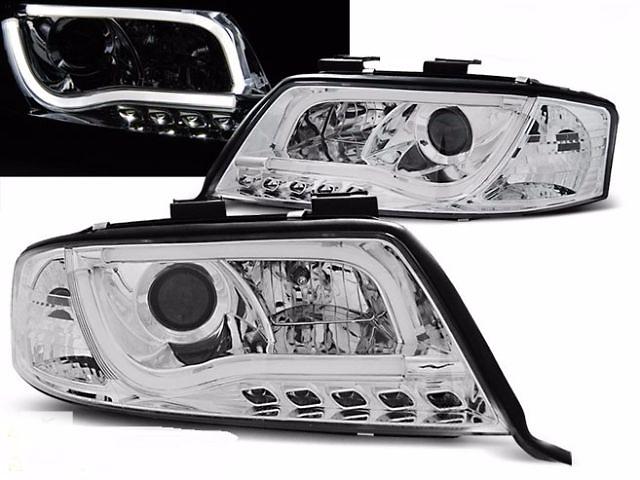 купить бу Фары тюнинг оптика Audi Ауді A6 C5 (LPAU91) в Луцке