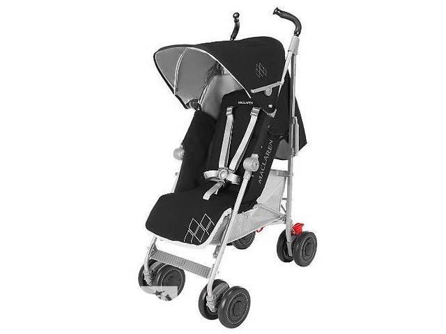 продам Новая коляска-трость TECHNO XT Cardinal / Silver черная, бренд: Maclaren (Великобритания) ниже оптовой цены! бу в Киеве