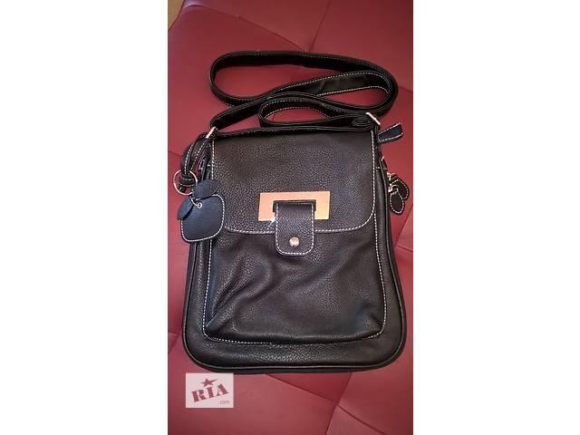 Новая кожаная женская сумочка, куплена в Италии!!!- объявление о продаже  в Виннице
