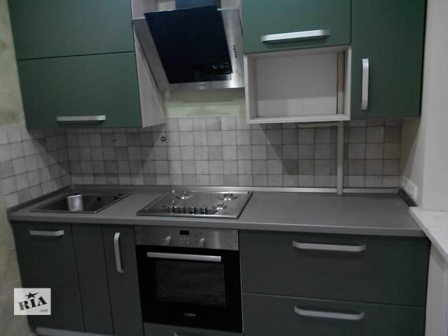 продам Новая кухня, крашеный МДФ - цвет на выбор, крутая фурнитура. бу в Днепре (Днепропетровске)