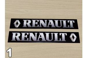 Новые Накладки порога Renault Trafic