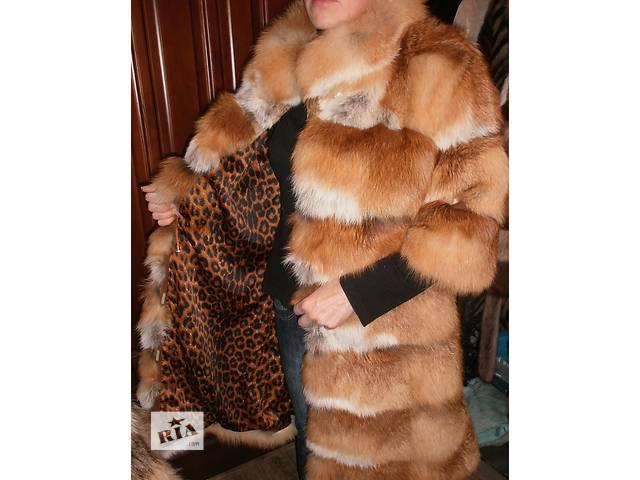 Новая шубка из меха лисы- объявление о продаже  в Киеве