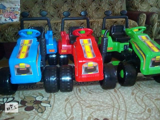 Новые детские трактора на педалях.- объявление о продаже  в Луцке
