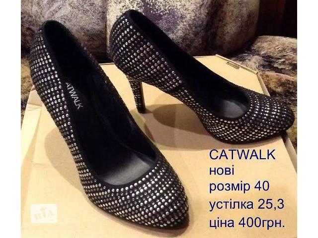 Нові туфлі CATWALK, 40розмір- объявление о продаже  в Львове