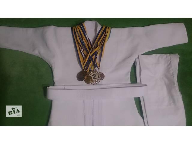 Новое кимоно для дзюдо и джиу-джитсу р 130-140- объявление о продаже  в Харькове