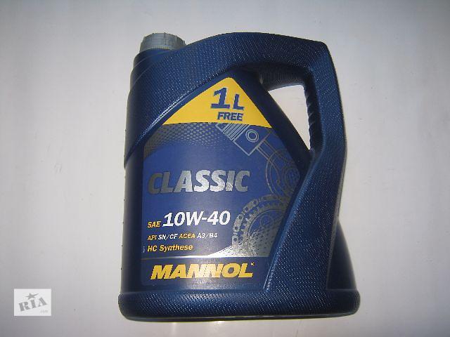 купить бу Новое масло моторное MANOL 10W40 в Ковеле
