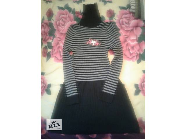 Новое платье с длинным рукавом- объявление о продаже  в Одессе