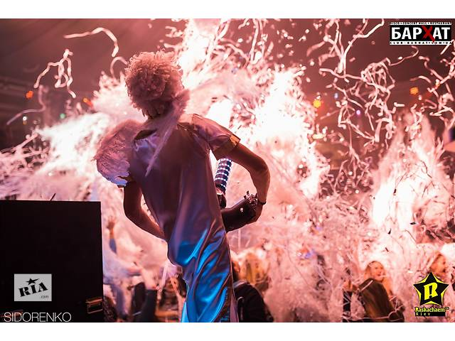 бу Бумажное шоу. Шоу на корпоратив, день рождения. Программа, которая удивит всех гостей!  в Украине