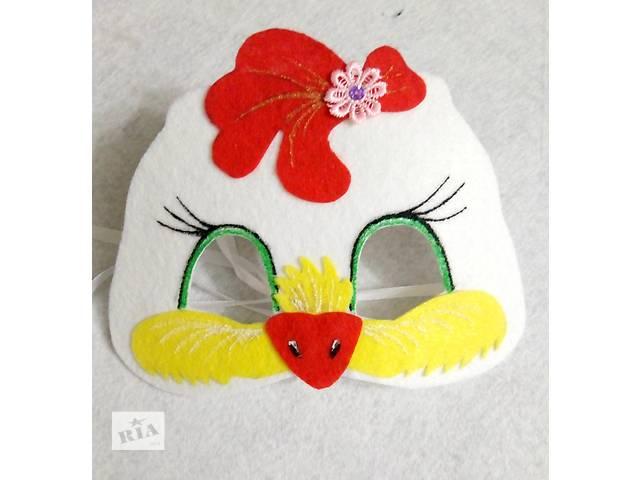 купить бу Новогодние карнавальные маски для девочек в Киеве