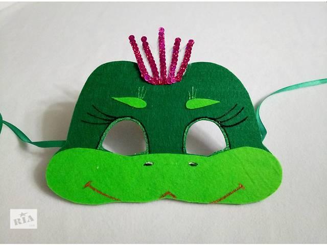 продам Новогодние карнавальные маски для девочек бу в Киеве