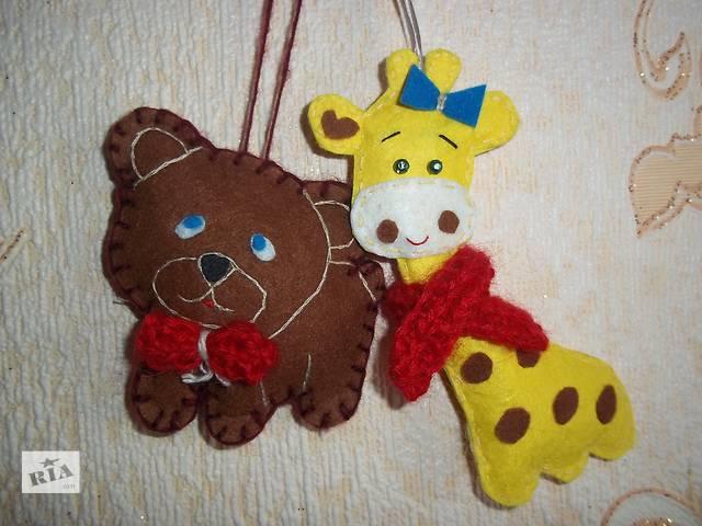 Новогодние игрушки из фетра- объявление о продаже  в Кривом Роге (Днепропетровской обл.)