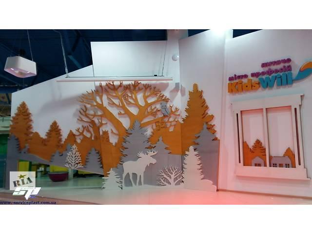 продам Новогодний декор: елки, снежинки, животные, сказочные персонажи, фигуры из пенопласта для оформления витрин и выставок бу  в Украине