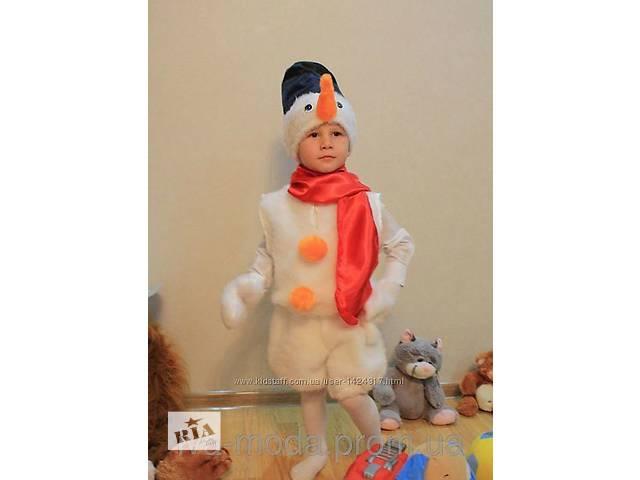 продам новогодний костюм снеговик бу в Харькове
