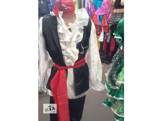 продам Новогодний костюм Пирата или Пиратки для девочек и мальчиков 3-13 лет бу в Киеве