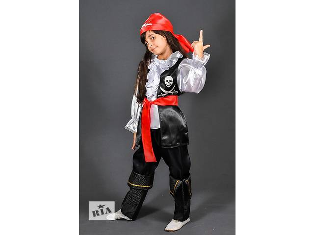 купить бу Новогодний костюм Пирата или Пиратки для девочек и мальчиков 3-13 лет в Киеве