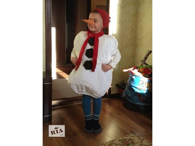 продам Новогодний костюм Снеговика бу в Борисполе
