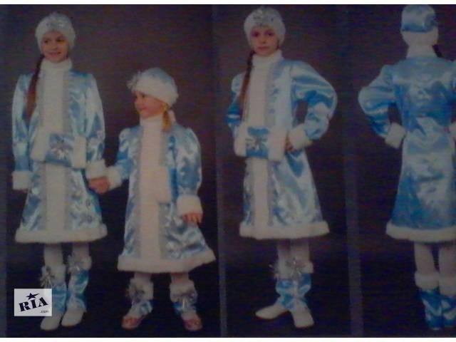 Новогодний костюм Снегурочки возраст 3-13 лет- объявление о продаже  в Киеве