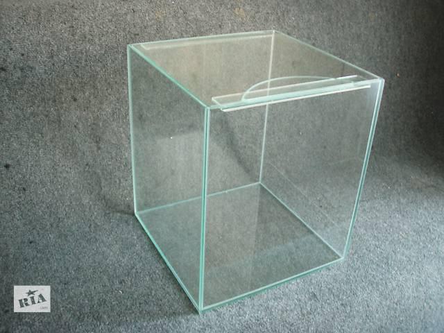 продам НОВЫЕ АКВАРИУМЫ 32л+покровное стекло бу в Днепре (Днепропетровск)