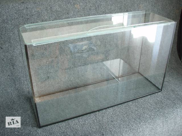 продам Новые аквариумы 52л+покровное стекло. пересылка по украине бу в Днепре (Днепропетровске)