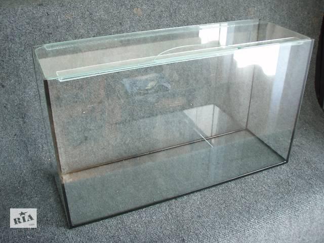 продам Новые аквариумы 52л+покровное стекло бу в Днепре (Днепропетровске)