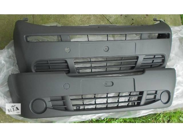 бу новые бампера не китай!!! 2001 - 2012г.в Бампер передний Renault Trafic Рено Трафик Opel Vivaro Nissan Primastar в Бориславе