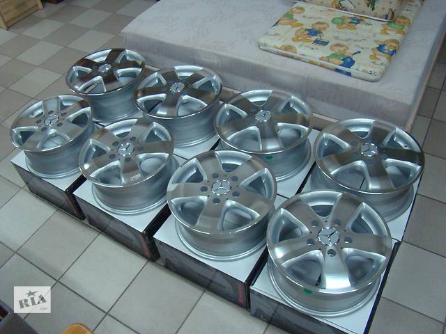 бу Новые литые диски Mercedes Sprinter Crafter w903 w906 R15 R16 Germany/// в Ровно