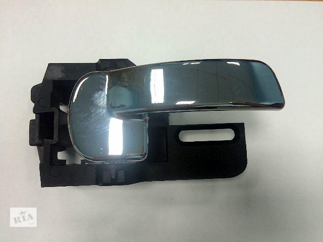 купить бу Новые ручки дверей (левая/правая) хром внутриние для легкового авто Nissan Qashqai 06-13 (Ниссан Кашкай),  лицензия в Ровно